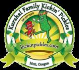 Kurzhal Family Kickin Pickles Logo